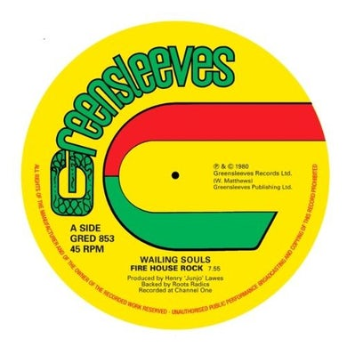 Wailing Souls FIREHOUSE ROCK Vinyl Record