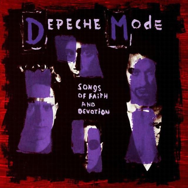 Depeche Mode SONGS OF FAITH & DEVOTION Vinyl Record