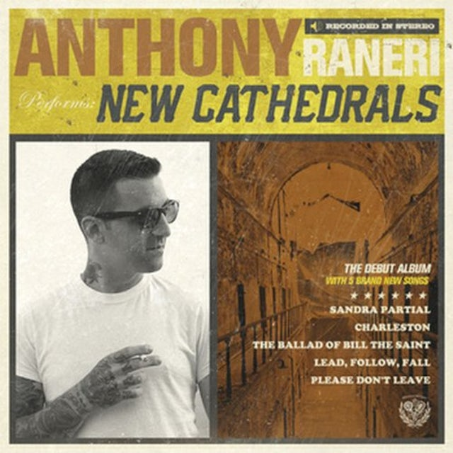 Anthony Raneri NEW CATHEDRALS Vinyl Record