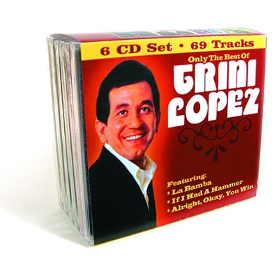 ONLY THE BEST OF TRINI LOPEZ CD