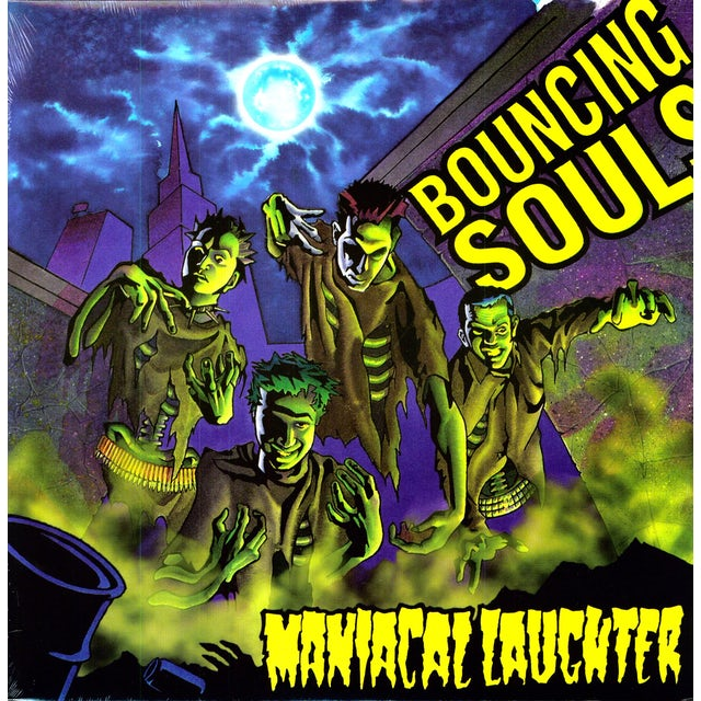 The Bouncing Souls MANIACAL LAUGHTER Vinyl Record
