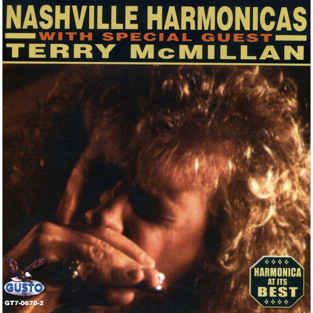 Nashville Harmonicas WITH SPECIAL GUEST TERRY MCMILLAN CD