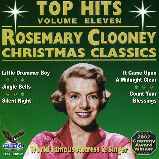 Rosemary Clooney CHRISTMAS TOP HITS CD