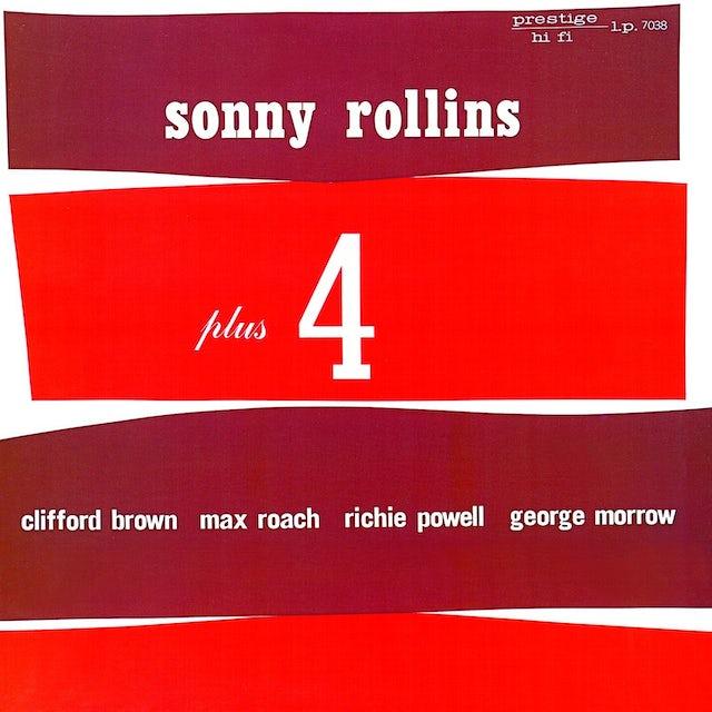 Sonny Rollins PLUS FOUR Vinyl Record