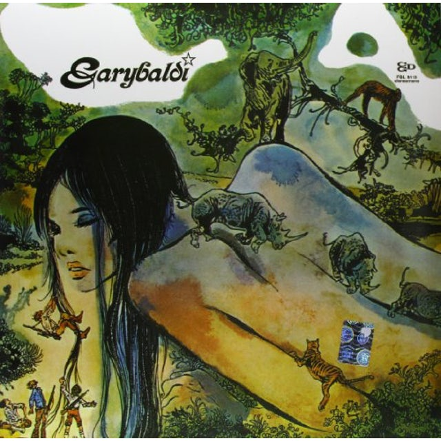 Garybaldi NUDA Vinyl Record