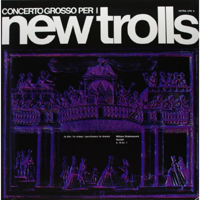 New Trolls CONCERTO GROSSO Vinyl Record