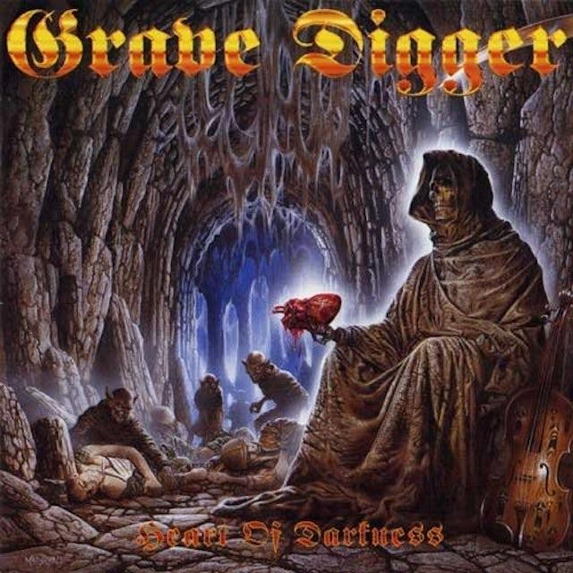 Grave Digger HEART OF DARKNESS Vinyl Record