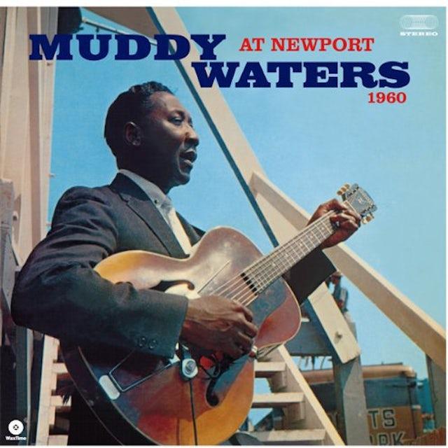 Muddy Waters AT NEWPORT 1960 Vinyl Record - Spain Release