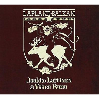 Jaakko Laitinen & Vaara Raha LAPLAND-BALKAN CD