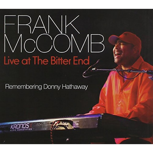 Frank McComb REMEMBERING DONNY HATHAWAY (LIVE AT THE BITTER END CD