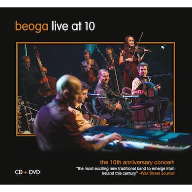 Beoga LIVE AT 10: 10TH ANNIVERSARY CONCERT CD