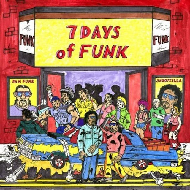 7 Days Of Funk (Dam Funk & Snoopzilla) 7 DAYS OF FUNK Vinyl Record