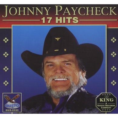 Johnny Paycheck 17 HITS CD
