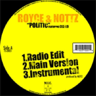 "Royce Da 5'9"" POLITICS Vinyl Record"