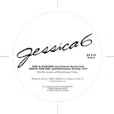 Jessica 6 FUN GIRL REMIXES Vinyl Record