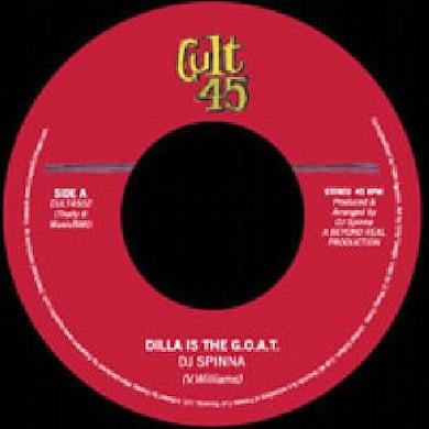 Dj Spinna J DILLA IS THE GOAT Vinyl Record