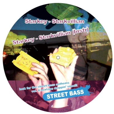 Starkey / 6Blocc / Dnabeats STREET BASS ANTHEMS 4 Vinyl Record