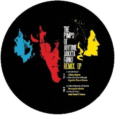Pimps Of Joytime JANXTA FUNK REMIXES Vinyl Record