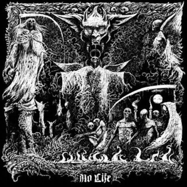 Bombs Of Hades / Mordbrand NO LIFE Vinyl Record