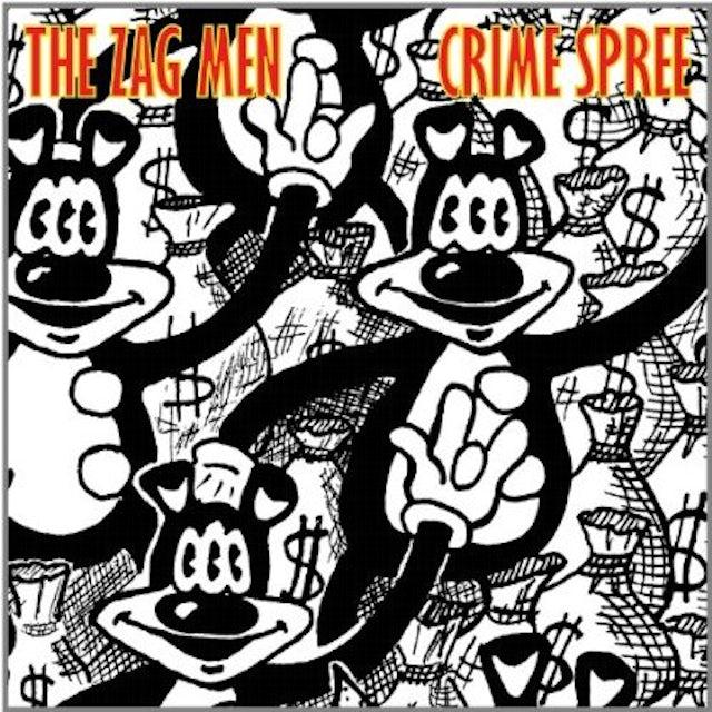 Zag Men CRIME SPREE CD