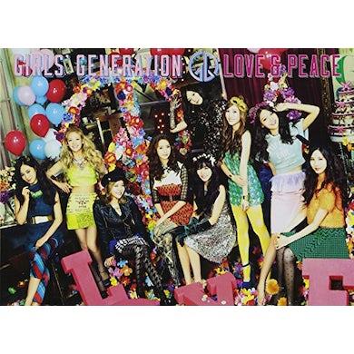 Girls' Generation LOVE & PEACE (CD + BLU-RAY) CD