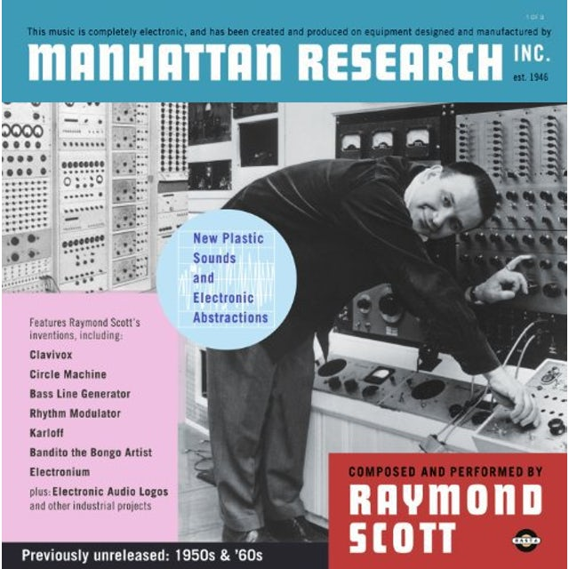 Raymond Scott MANHATTAN RESEARCH INC Vinyl Record