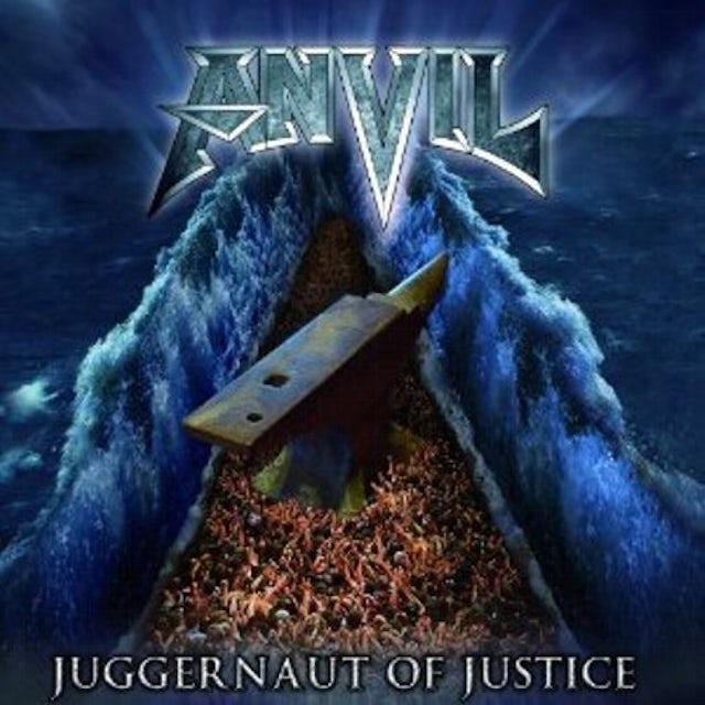 Anvil JUGGERNAUT OF JUSTICE CD