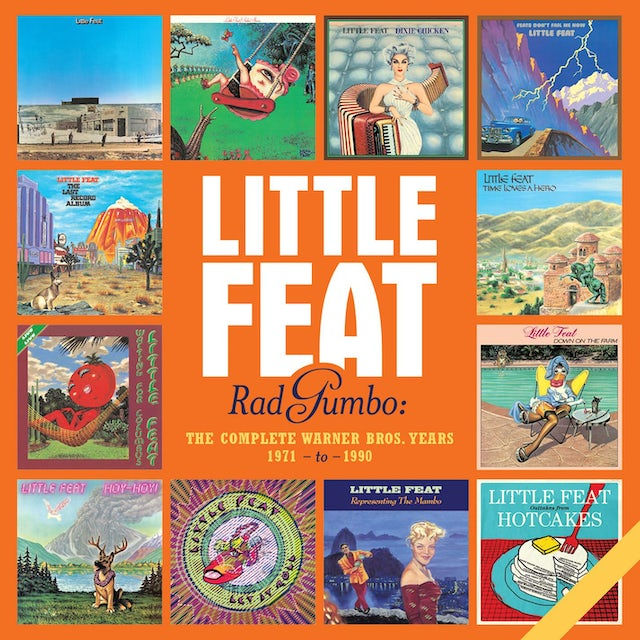 Little Feat RAD GUMBO: THE COMPLETE WARNER BROS YEARS 1971-90 CD