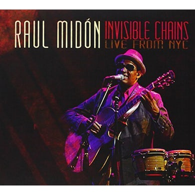 Raul Midon INVISIBLE CHAINS-LIVE FROM NYC CD