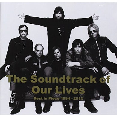 The Soundtrack Of Our Lives REST IN PIECE 1994-12 CD