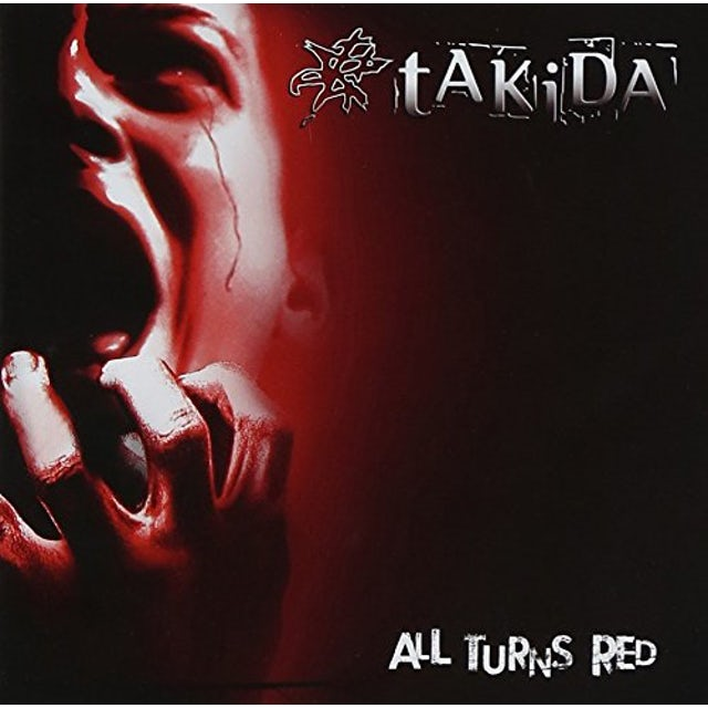 Takida ALL TURNS RED CD