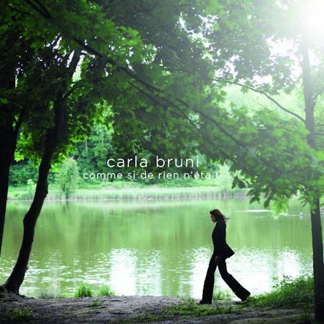 Carla Bruni COMME SI DE RIEN N'ETAIT CD