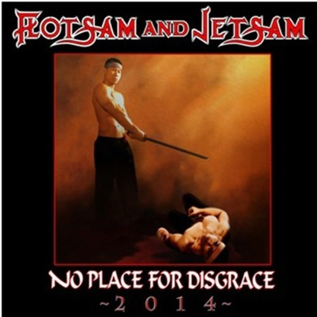 Flotsam & Jetsam NO PLACE FOR DISGRACE 2014 Vinyl Record