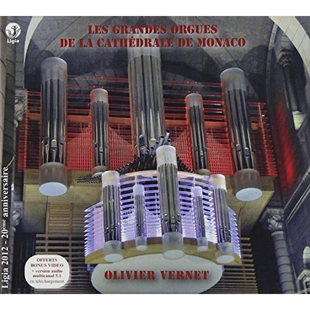 J.S. Bach LE NOUVEL ORGUE DOMINIQUE THOMAS DE LA CATHEDRALE CD