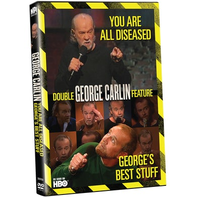 George Carlin GEORGE'S BEST STUFF / YOU ARE ALL DISEASED DVD