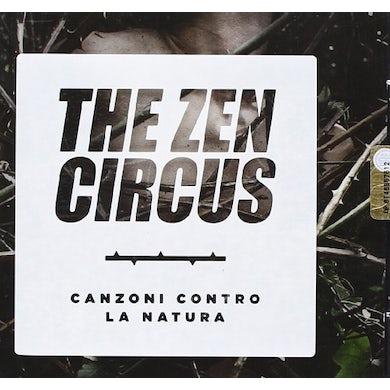 Zen Circus CANZONI CONTRO LA NATURA CD