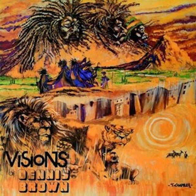 VISION OF DENNIS BROWN Vinyl Record