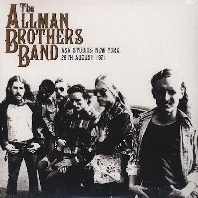 The Allman Brothers Band  A & R STUDIOS: NEW YORK (UK) (Vinyl)
