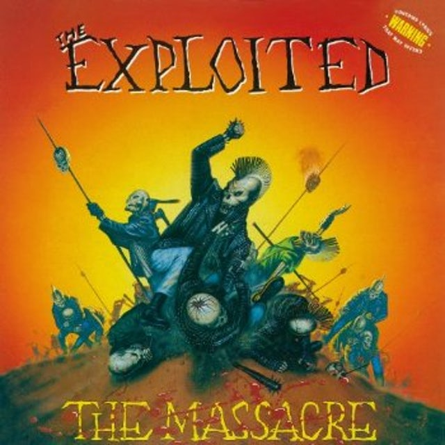 The Exploited MASSACRE CD