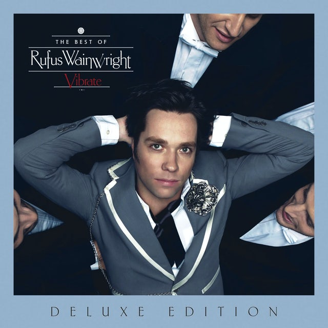 Rufus Wainwright VIBRATE: THE BEST OF CD