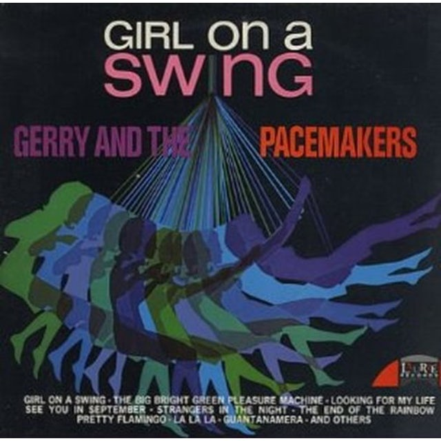 Gerry & The Pacemakers GIRL ON A SWING CD