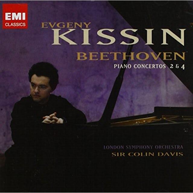 Evgeny Kissin BEETHOVEN:PIANO CONCERTOS 2 & 4 CD