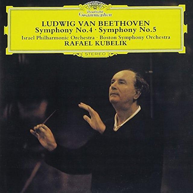 Rafael Kubelik BEETHOVEN: SYMPHONIES NOS. 4 & 5 CD