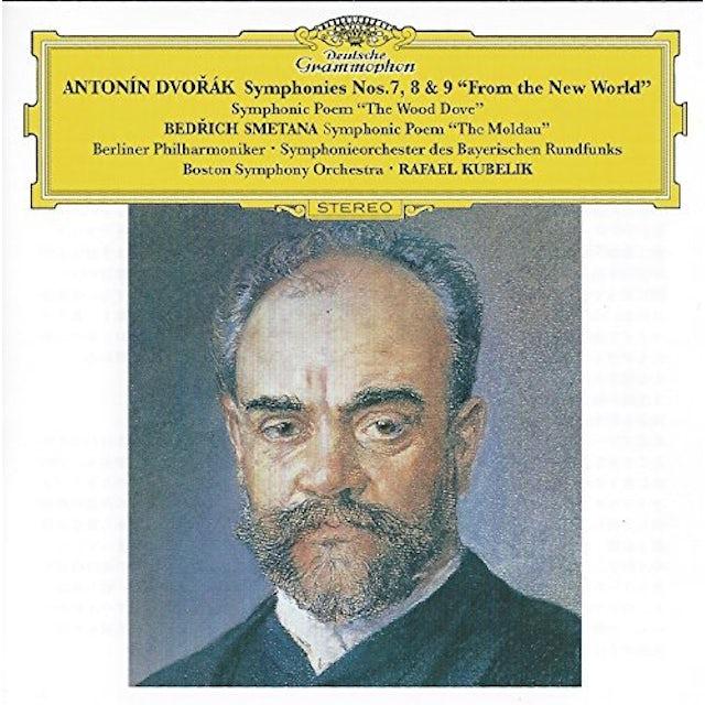 Rafael Kubelik DVORAK: SYMPHONIES NOS. 7 8 & 9 CD