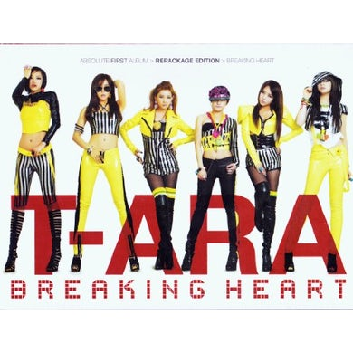 T-ara BREAKING HEART 1 CD