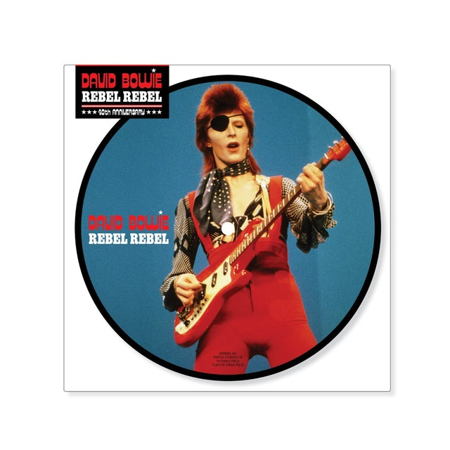 David Bowie REBEL REBEL Vinyl Record