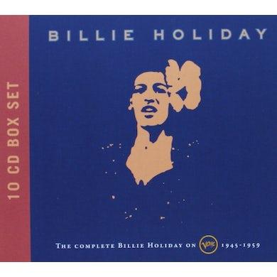 Billie Holiday COMPLETE B.H. ON VERVE CD