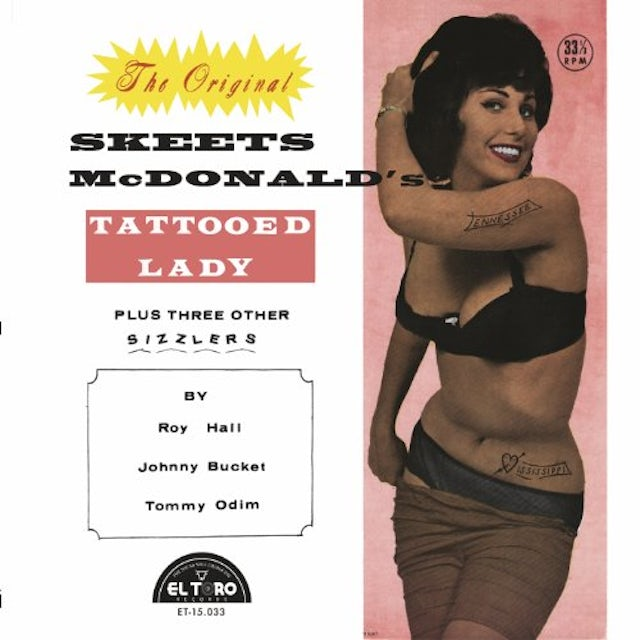 Skeets Mcdonald'S Tattooed Lady / Various Vinyl Record
