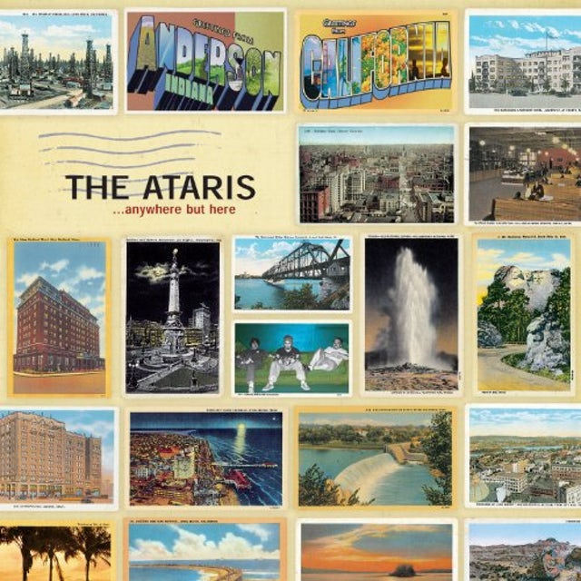 Ataris ANYWHERE BUT HERE Vinyl Record