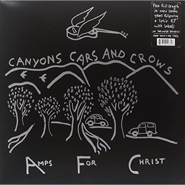 Amps For Christ CANYONS CARS & CROWS Vinyl Record